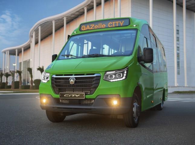 ГАЗ начал продажи нового низкопольного микроавтобуса «ГАЗель City»