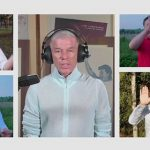 Газманов и члены клуба «Лидеров России» «Эльбрус» жестами исполнили гимн