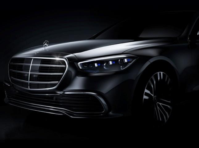 Mercedes-Benz показал дизайн нового S-Class