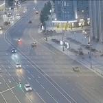 Момент аварии с участием Ефремова попал на видео