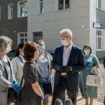 Новое здание центра социального обслуживания строят в Котловке