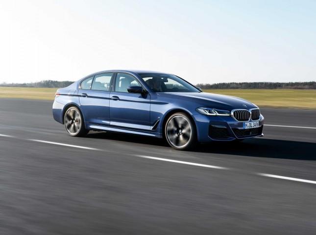 Объявлены цены на новый BMW 5 серии
