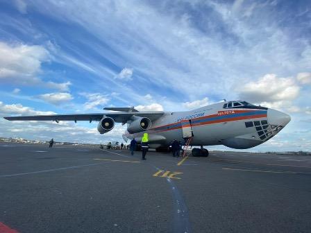 Россия отправила гуманитарную помощь в Лаос