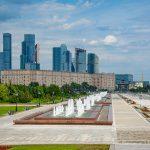 Сезон фонтанов открылся в Москве