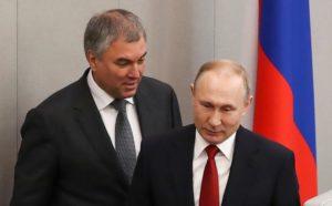 Спикер Госдумы Вячеслав Володин: «после Путина будет Путин»