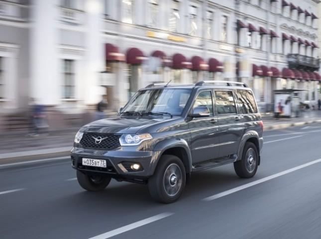 УАЗ в апреле вошел в ТОП-10 марок российского авторынка