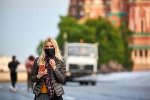 В Москве сохраняется масочный режим