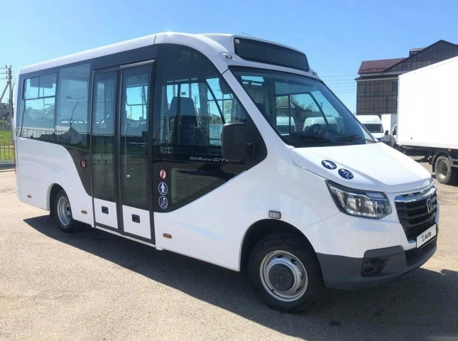 В России начались продажи нового микроавтобуса «ГАЗель City»