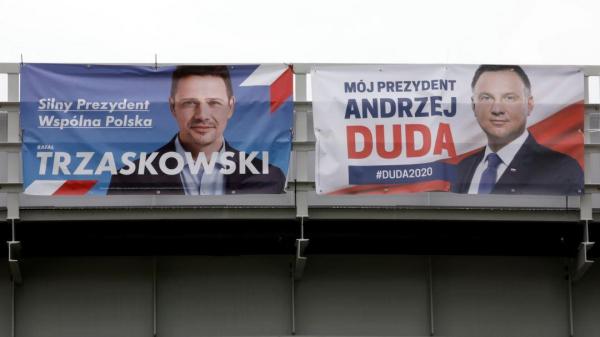 Граждане Польши в Вильнюсе в основном голосовали за Р. Тшасковского