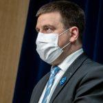 Ратас указал Департаменту здоровья на важность сотрудничества