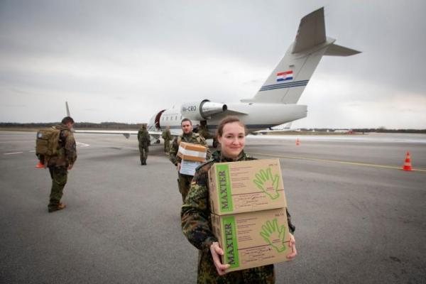 В Беларусь из Литвы отправляется гумпомощь для борьбы с коронавирусом