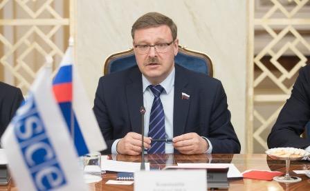Константин Косачев: действия американских властей нарушают соглашения с Россией