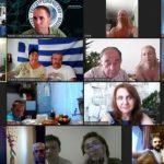 Онлайн-встреча объединила семейные пары из разных стран