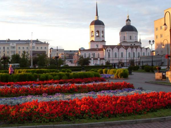 Житель Томска фотографирует город для земляков, покинувших родину