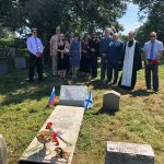Завершены реставрационные работы на братских могилах красноармейцев в Даугавпилсе