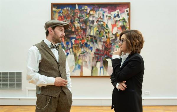 Третьяковская галерея приглашает на экскурсии с Константином Хабенским