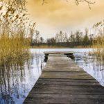В выходные в Чудском озере утонул мужчина