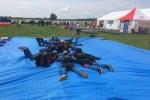 30 парашютистов готовятся установить рекорд Латвии