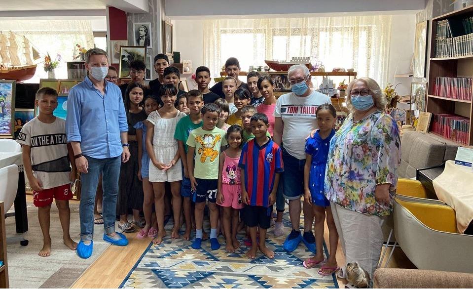 Гуманитарная российская миссия в «Миа Чилдрен» в Бухаресте