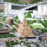 В Москве создали крупнейший в мире макет города