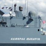 Военно-морской парад прошёл в сирийском порту Тартус