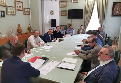 Состоялось первое после изоляции заседание Совета Московского отделения ИППО