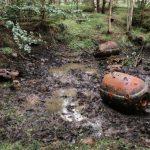 На острове Найссаар нашли противолодочную глубинную бомбу