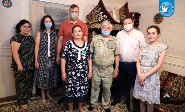 В рамках акции «Доброе сердце» помощь оказана пяти семьям из Ташкента