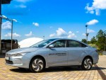 Geometry A: в Россию приедет китайский электромобиль белорусской сборки