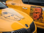 Как начали развлекать клиентов в российских такси
