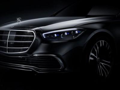 Официально рассекречена часть интерьера нового Mercedes-Benz S-класса