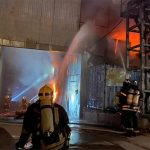 Пожар в складском здании на юго-востоке Москвы ликвидировали