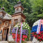 В Словении прошли традиционные торжества у Русской часовни на Вршиче