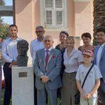 Памятник Есенину установили на берегу Адриатического моря