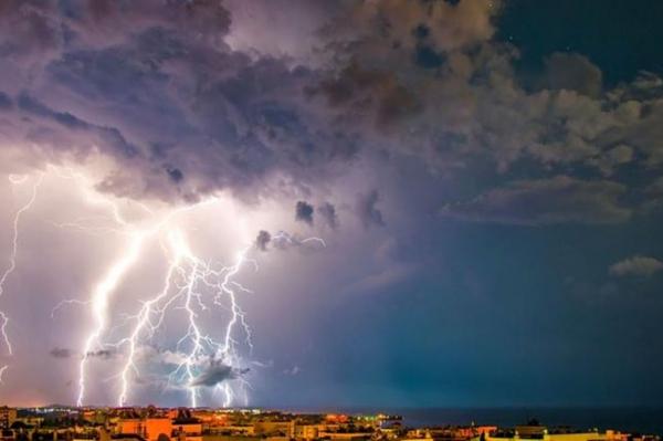 В понедельник в Латвии ожидаются дожди и грозы
