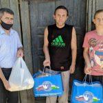 «Доброе сердце»: адресную помощь получили еще восемь семей в Ташкенте