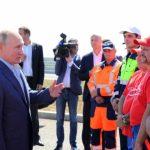 Президент открыл движение по построенным участкам трассы «Таврида»