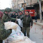 Российские военные раздадут жителям Сирии свыше 60 тонн продуктов