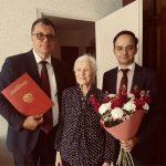 Российские дипломаты поздравили с днем рождения ветеранов в Таллине и Пярну