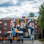 Страницы истории новгородской земли изобразили в городах региона