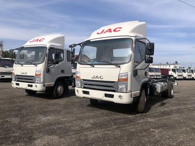 JAC привез в Россию улучшенные грузовики N-серии