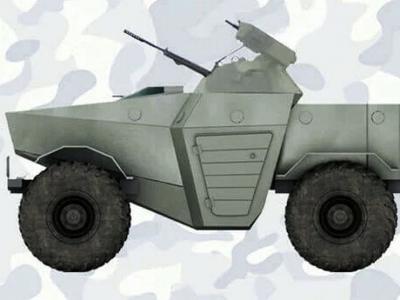 В России построят крохотный броневик «для города»