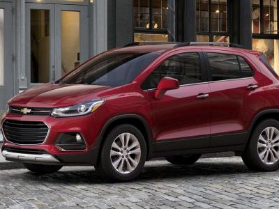 В Россию готовится приехать новый бюджетный кроссовер Chevrolet Tracker