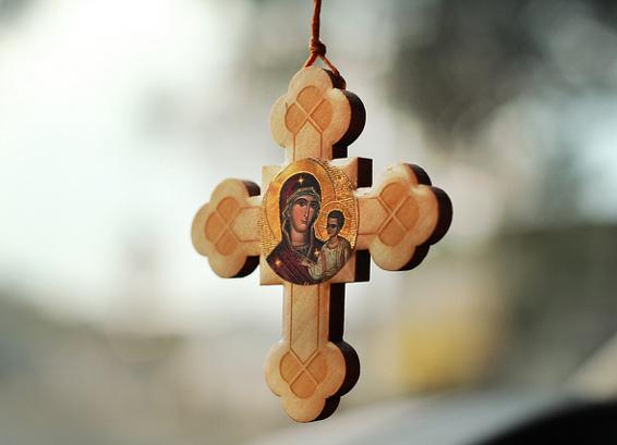 Православные верующие отмечают Рождество Пресвятой Богородицы