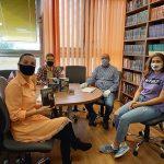 Словацкие студенты готовятся к премьере спектакля по пьесе А. П. Чехова