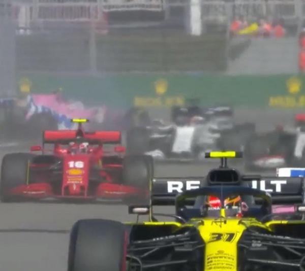 Этап «Формулы-1» в Сочи запомнился жаркой борьбой