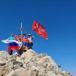 Соотечественники из Армении соврешили «восхождение Победы»