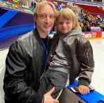 Сын Евгения Плющенко Александр одержал победу на турнире в честь 50-летия «Самбо-70»