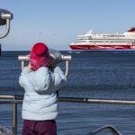 В портах Эстонии заметно сократился пассажиропоток