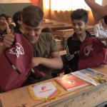 Сирийские дети получили от России подарки с учебными принадлежностями и космической едой